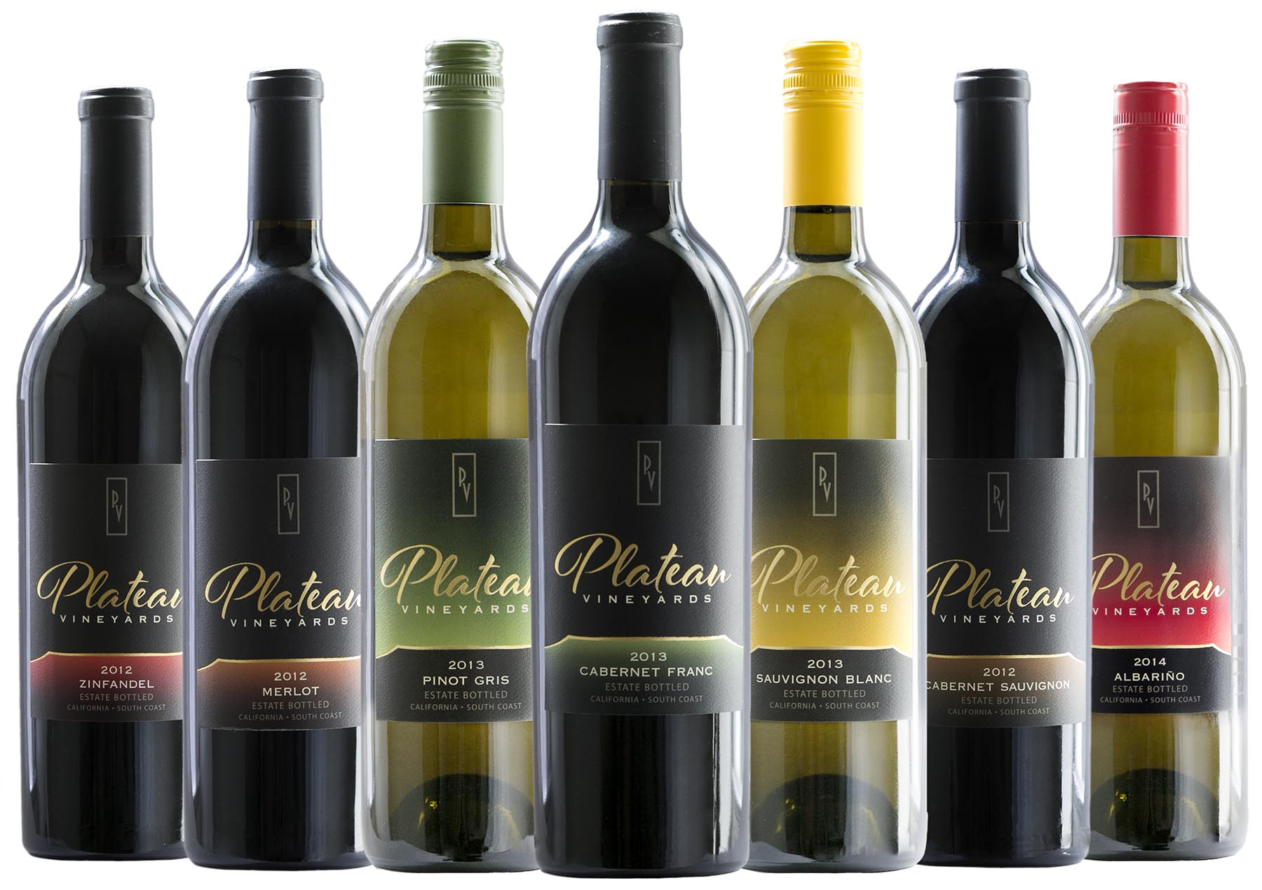 Plateau Vineyards wines